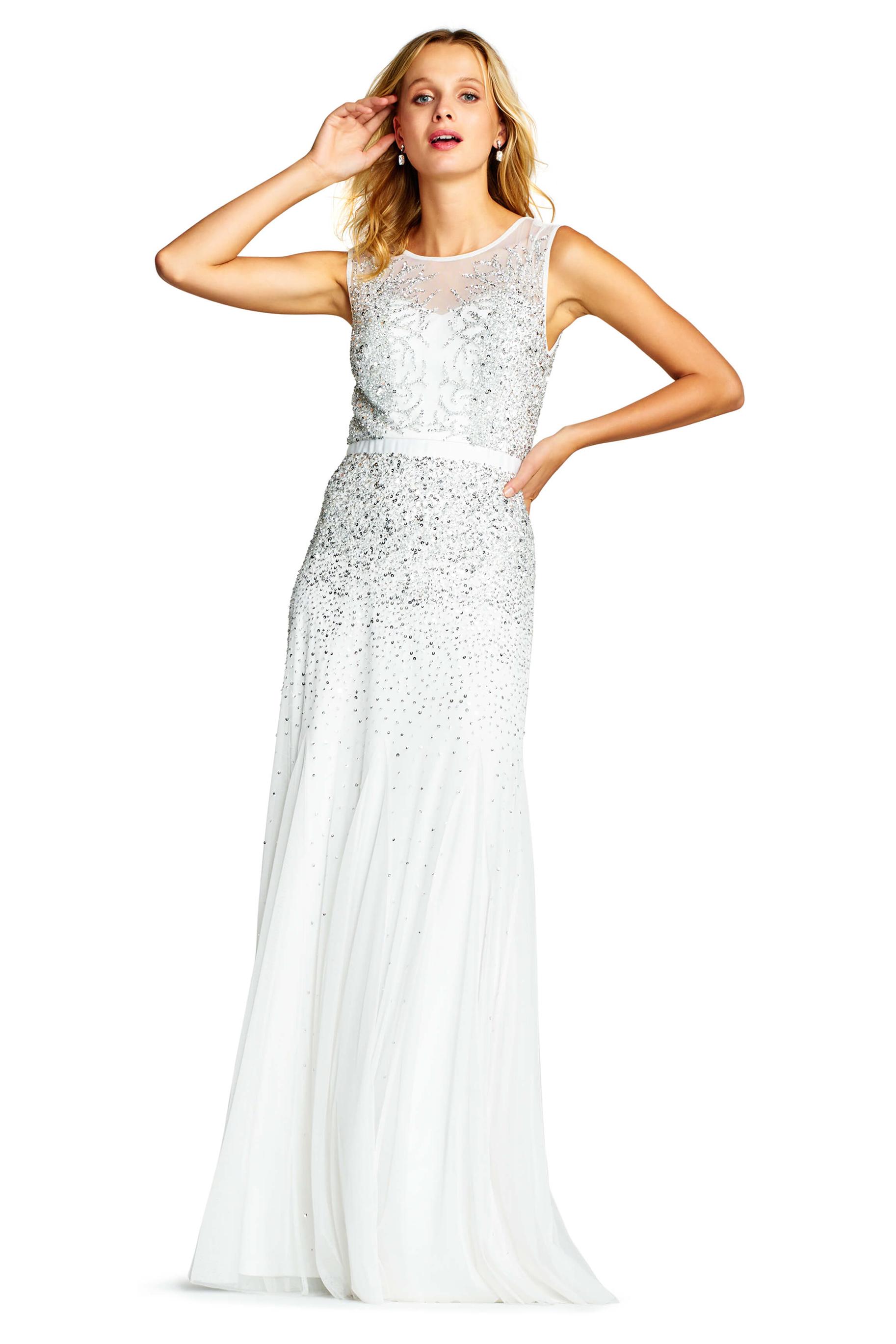 3bd7a03e13 091892370 Sukienka wieczorowa biała.  Adrianna Papell 09189237 sukienki balowe.png