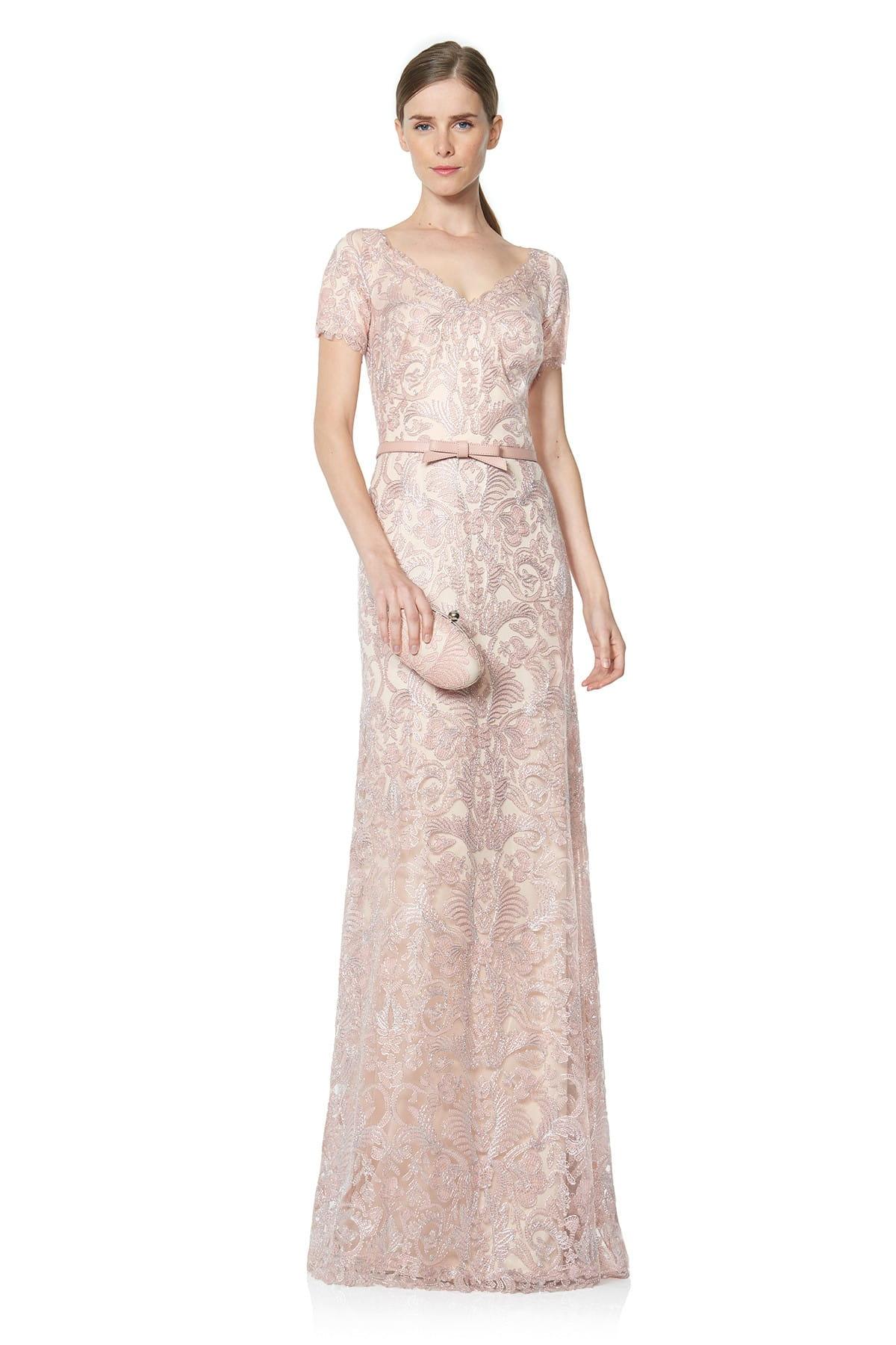 Sukienka cekinowa przeplatany przód beż, sukienki na